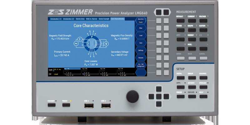 三相電力分析儀LMG640