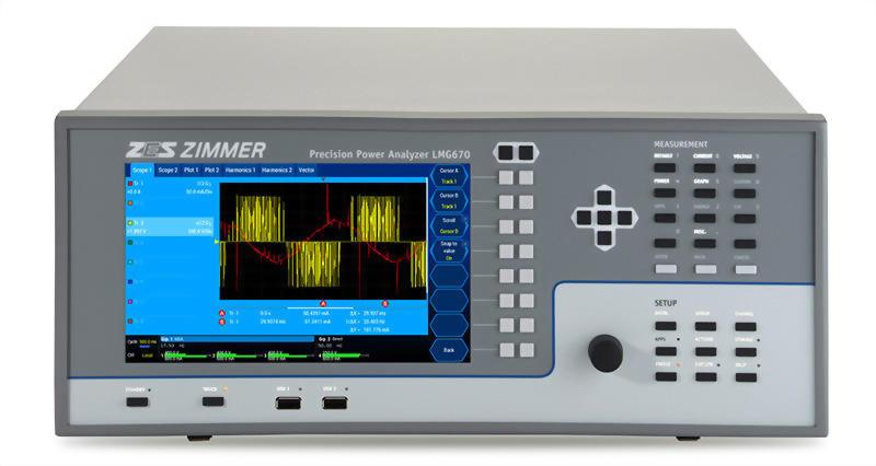 三相電力分析儀LMG670