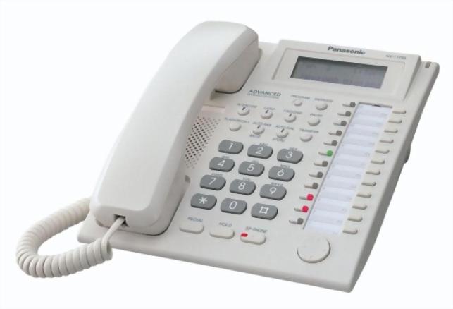 KX-T7735X 12鍵顯示型話機/三行