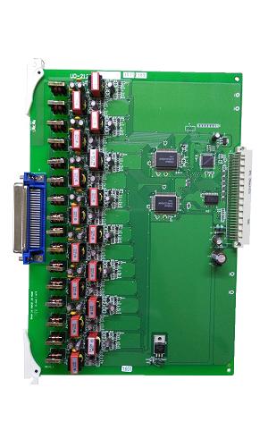 UD-2100 1B+1D 16回路數位分機卡