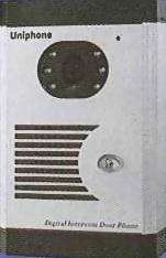 金屬型單鍵式彩色影像對講門口機