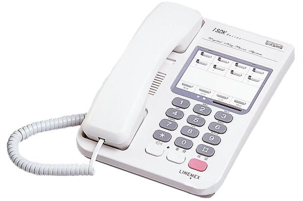 ISDK 8 外線標準型數位話機 (92版)
