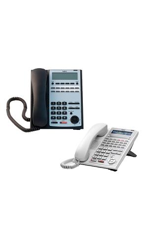 24鍵顯示型話機(黑、白色)