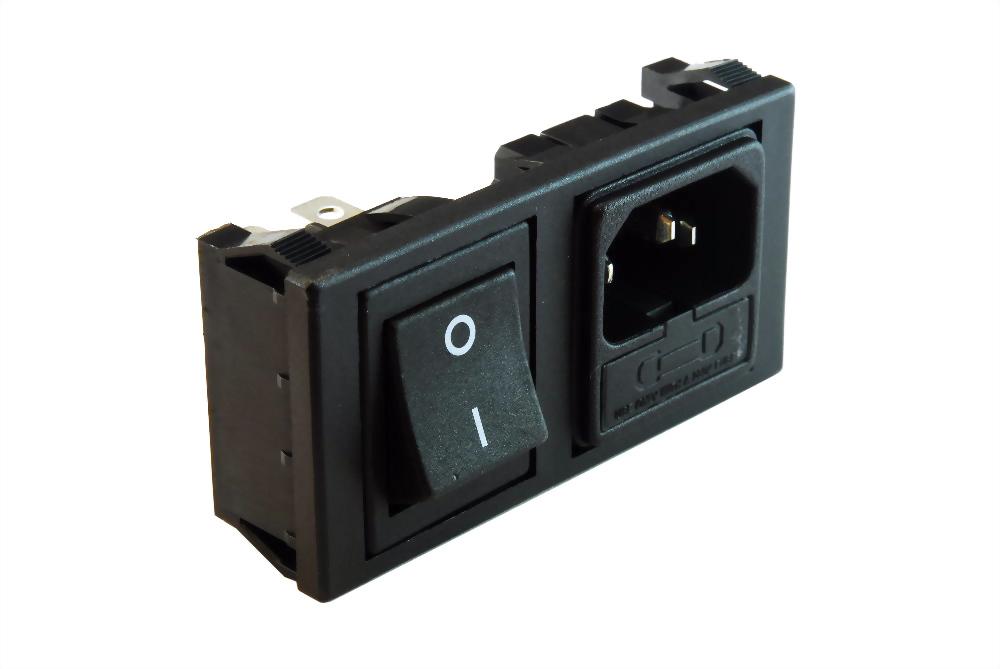 AC Sockel+Halter+Schalter (SWJR101-1FSC-02)