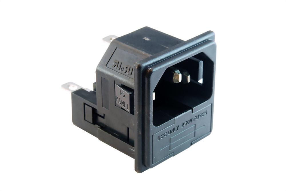 AC Sockel+fuse Halter (SWRF-2004D-□)