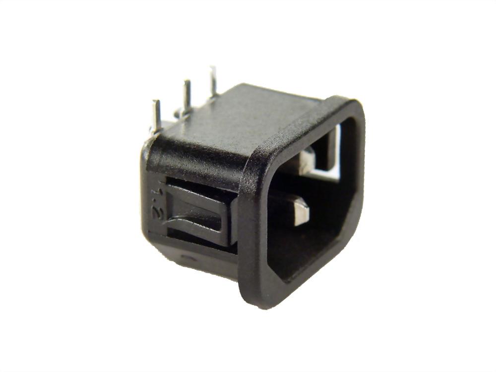 IEC 60320 C14 SOCKET-INLETS-C14 (SWJR-101SE-PC□-1.2(3.0))