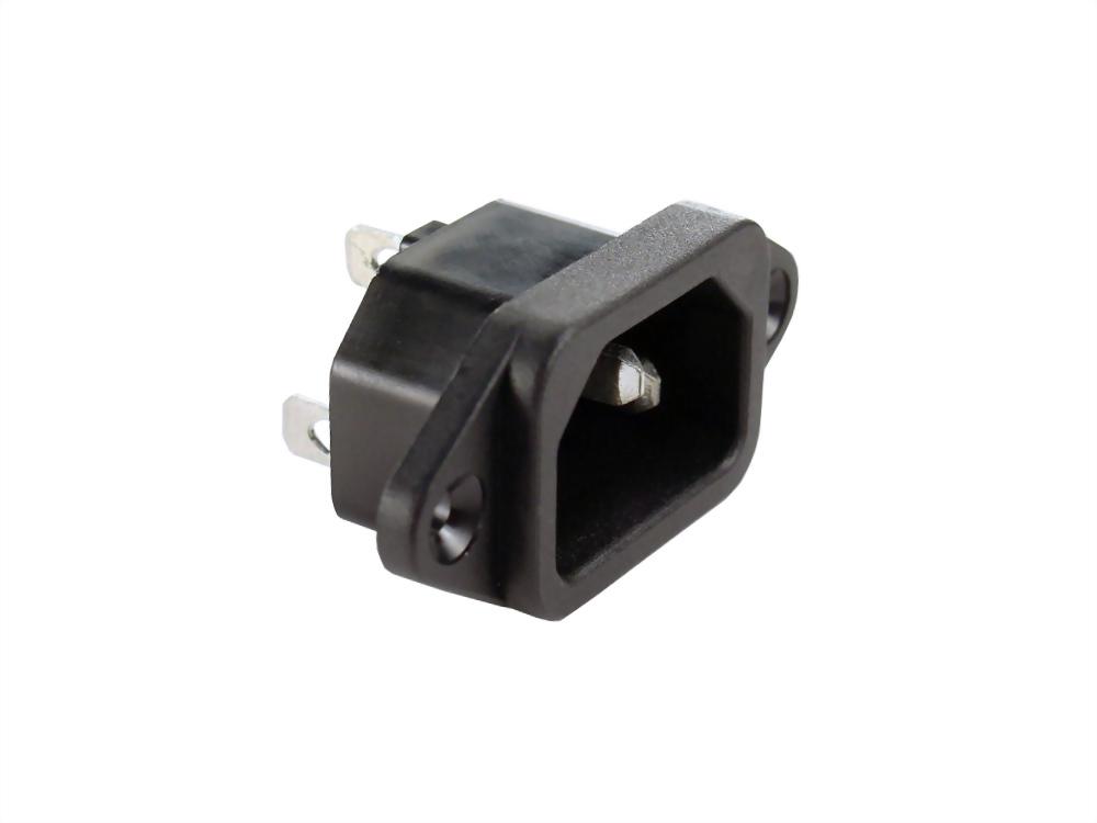 IEC 60320 C14 ソケットインレット-C14 (SWTU-301-A-A1-□)