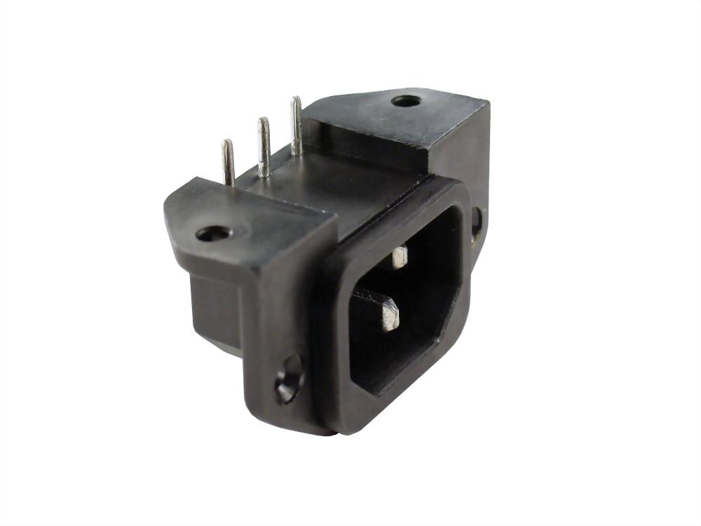 IEC 60320 C14 SOCKET-INLETS-C14 (SWTU-301-AL-L)
