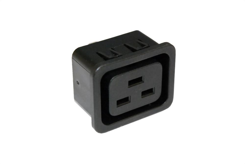 IEC 60320 C19 ソケットアウトレット-C19 (SWR-306SN-□)