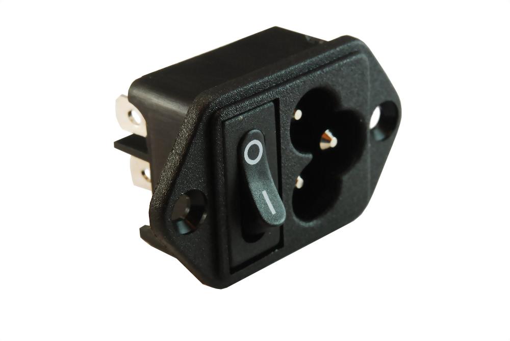 IEC 60320 C6 SOCKET-INLETS-C6 (SWJR-307R)