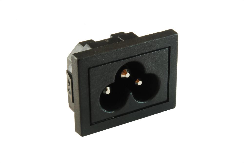 IEC 60320 C6 Sockel-Eingänge-C6 (SWJR-307SB(PCB))