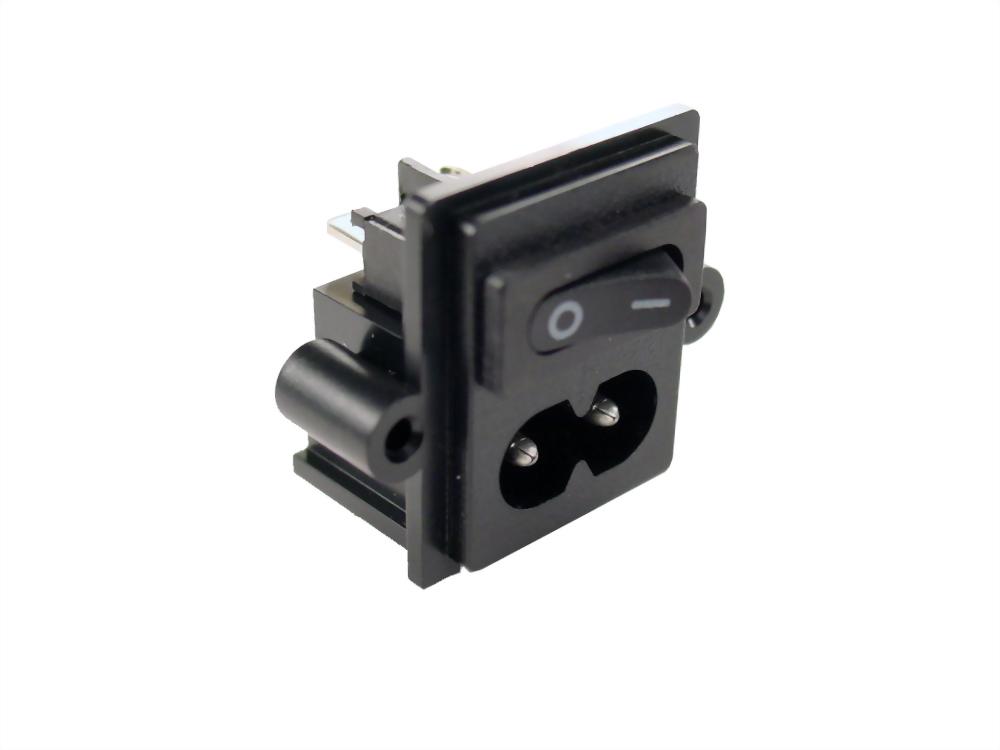 IEC 60320 C8 SOCKET-INLETS-C8 (SWHJC-028S-1)