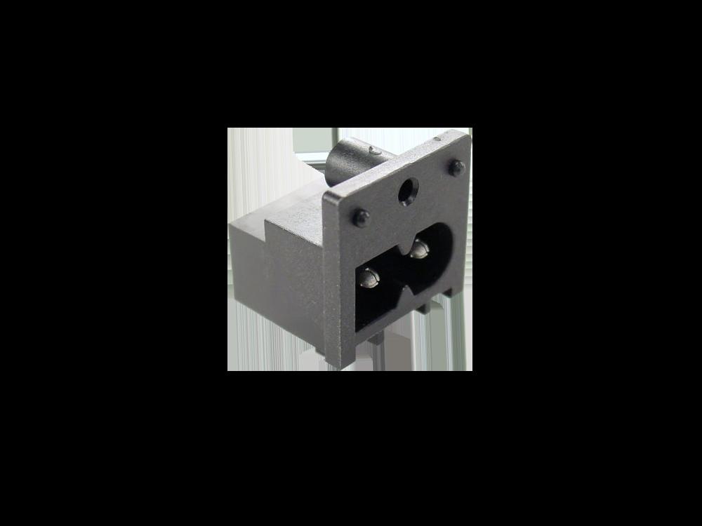 IEC 60320 C8 ソケット-インレット-C8 (SWHJC-034A)