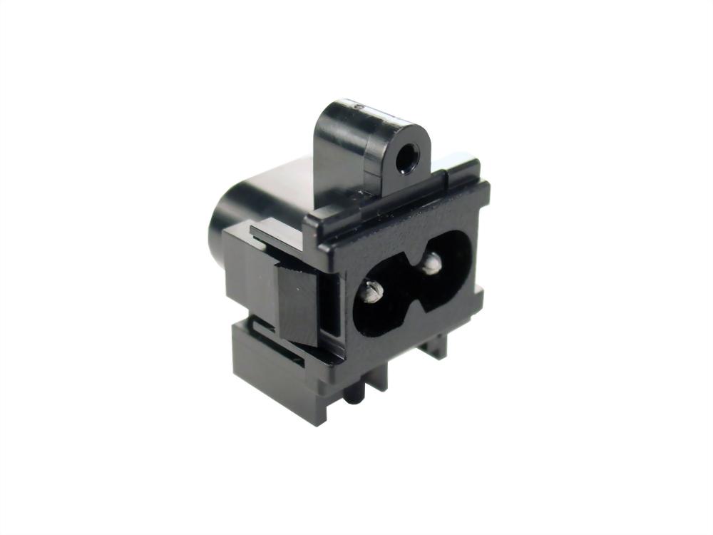 IEC 60320 C8 ソケット-インレット-C8 (SWHJC-035)