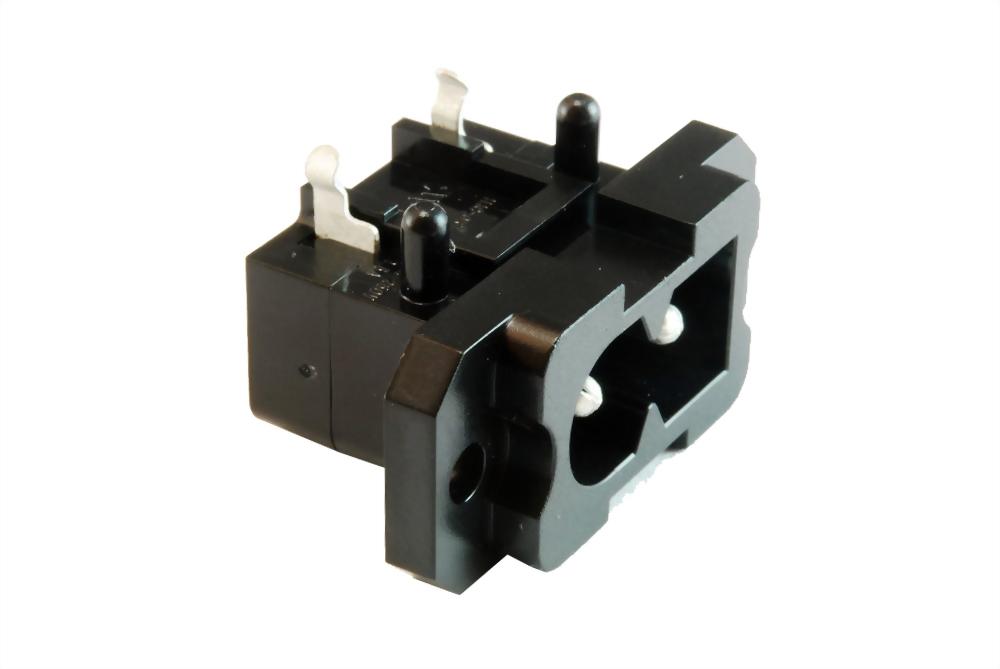 IEC 60320 C8 Socket-Eingänge-C8 (SWHJC-037A-P)