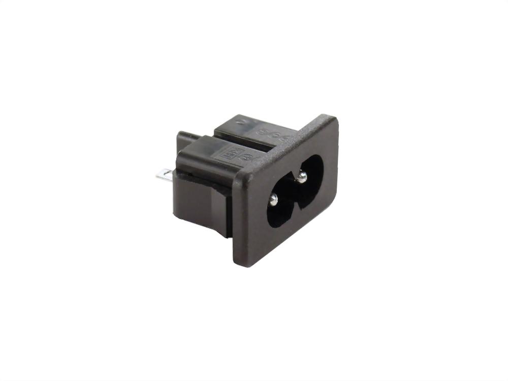 IEC 60320 C8 SOCKET-INLETS-C8 (SWJR-201S)