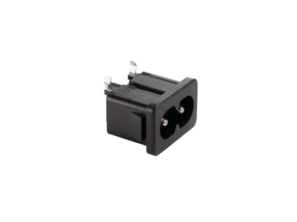 IEC 60320 C8 ソケットインレット-C8 (SWR-201A90(02))