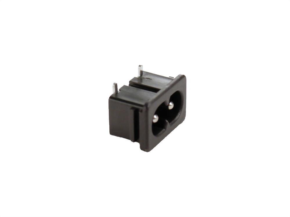 IEC 60320 C8 Socket-Eingänge-C8 (SWR-201A90-B21)