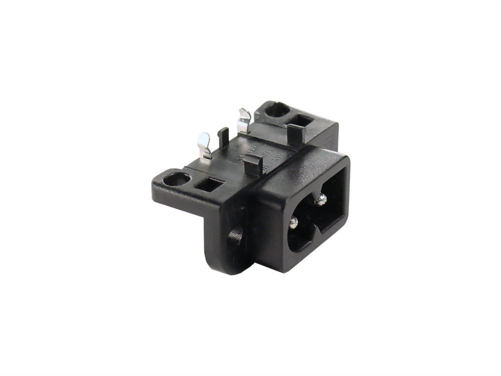 IEC 60320 C8 Socket-Eingänge-C8 (SWSO-222-R-0R)