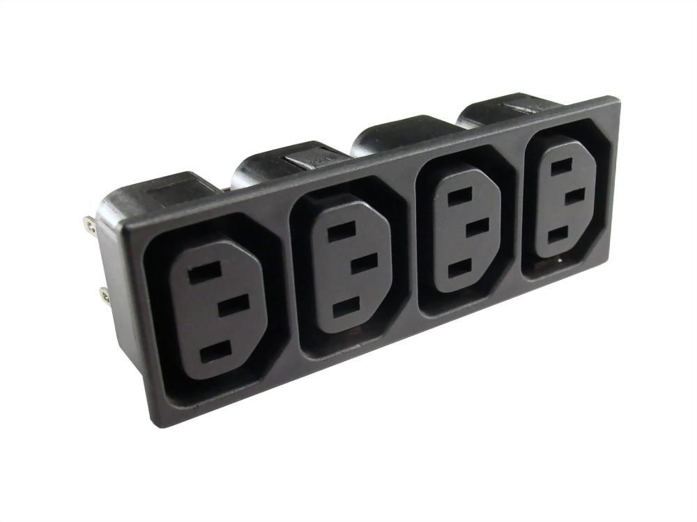 IEC 60320 ganged Steckdosen (SWR-302G4)
