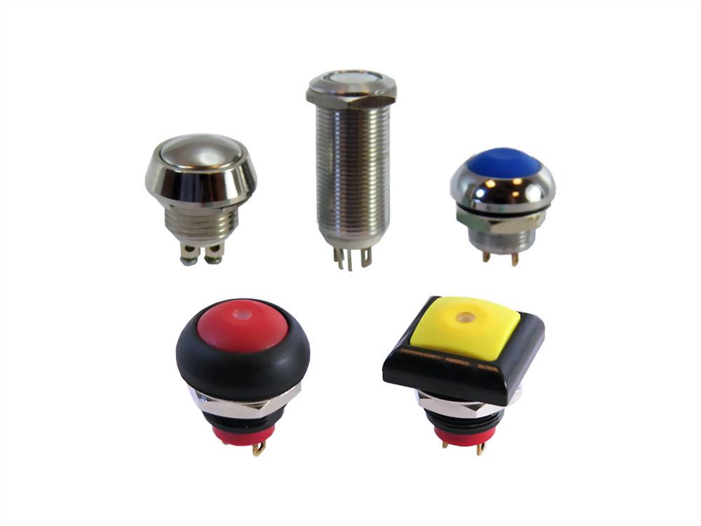 金属押ボタンスイッチ (IP65 / IP67) (SQN12 series)
