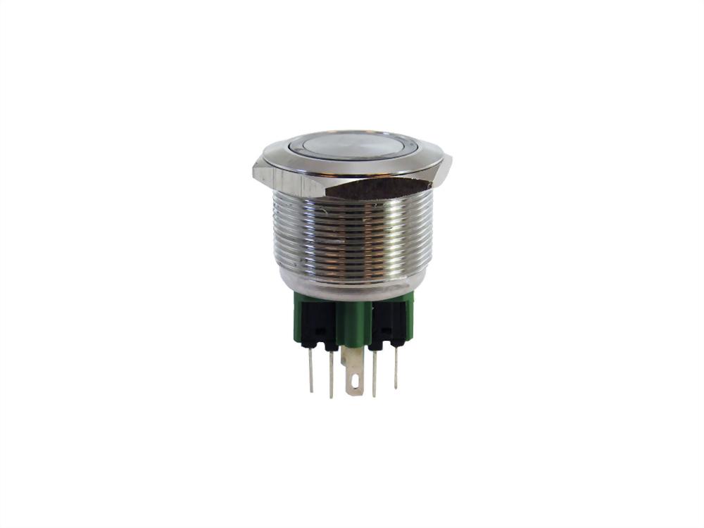 METAL PUSH BUTTON SWITCH ( IP65 / IP67 ) (SQN25 series)