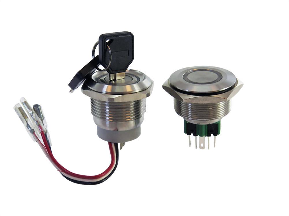 Metal Push Button Schalter ( IP65 / IP67 ) (SQN30 series)