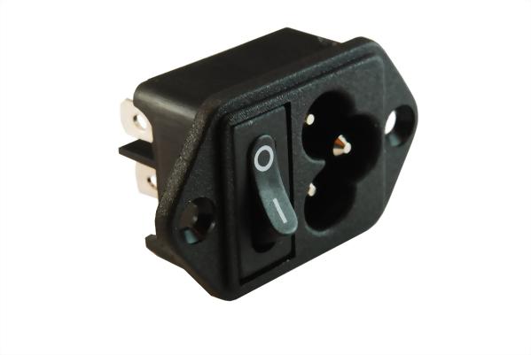 Iec 60320 C6 Socket Inlets C6 Swjr 307r