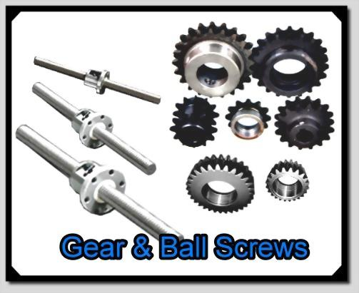 Sprocket & Ball Screws