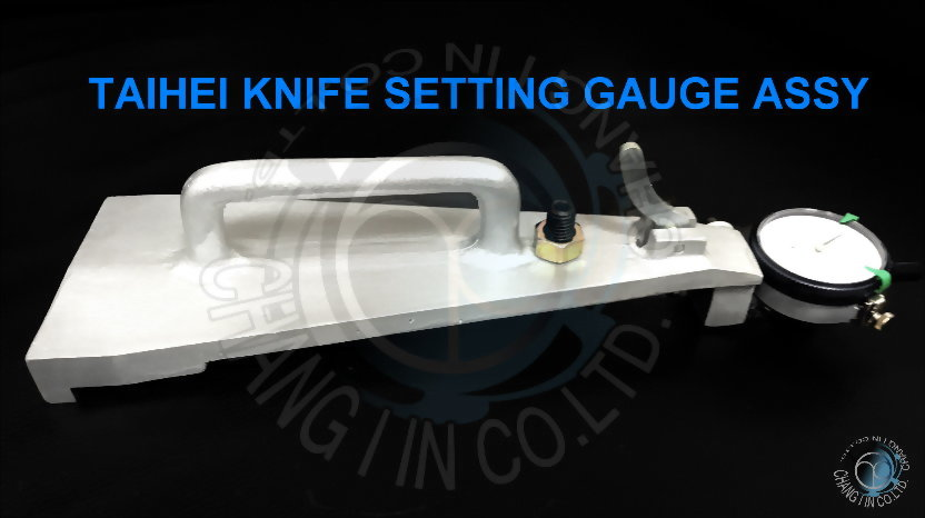 Taihei Knife Setting Gauge For Rotray Lathe