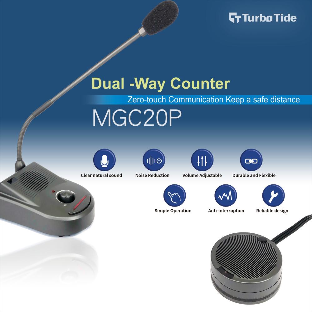 Gooseneck Microphone MGC20P