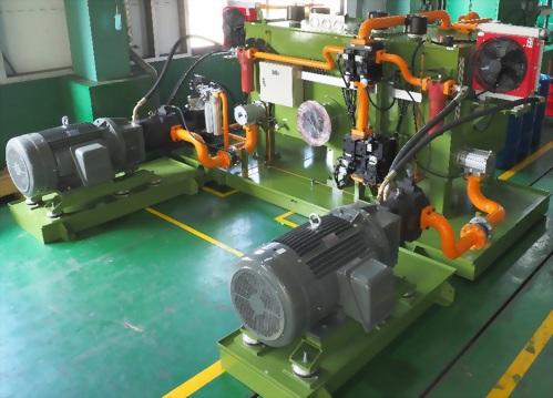 1200T鋼鐵廠油壓剪切動力系統