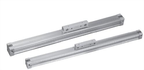 Steel rodless tanpa batang silinder