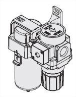 2-piece Combo Micro-Mist Lubricator and Regulator JACB