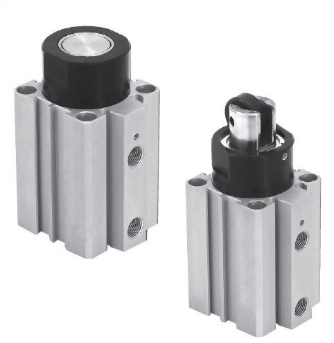JRSQ-A/B圓桿/滾輪阻擋氣缸