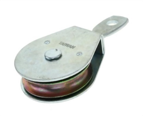 鐵板滑輪-雙鉤