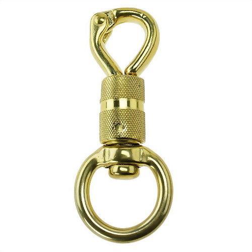 銅鉤扣具(旋轉鳥鉤)