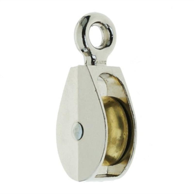 滑輪類產品(鋅合金固定單滑輪+銅輪)