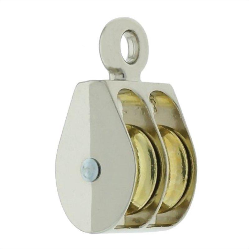 滑輪類產品(鋅合金固定雙滑輪)