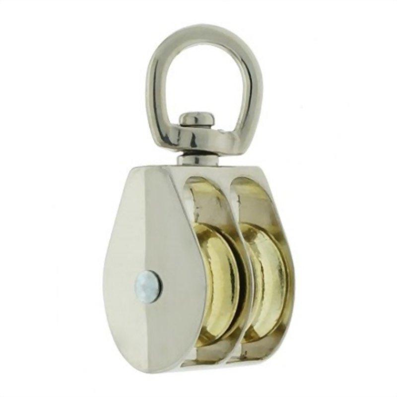 滑輪類產品(鋅合金活動雙滑輪)
