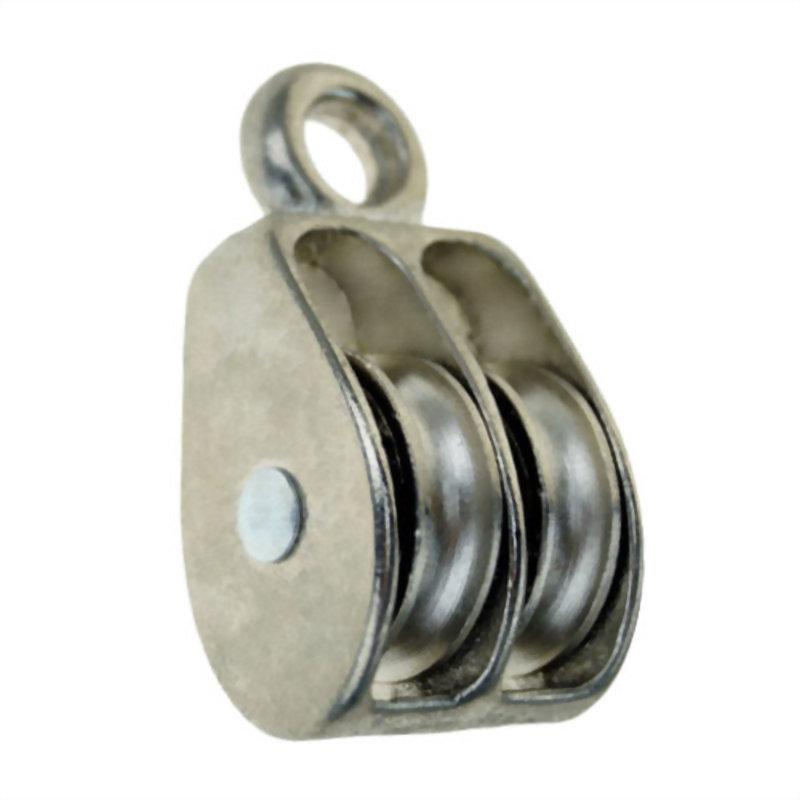 滑輪類產品(鐵固定雙滑輪)