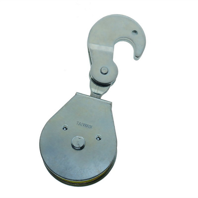 滑輪類產品(鐵板單鉤滑輪)