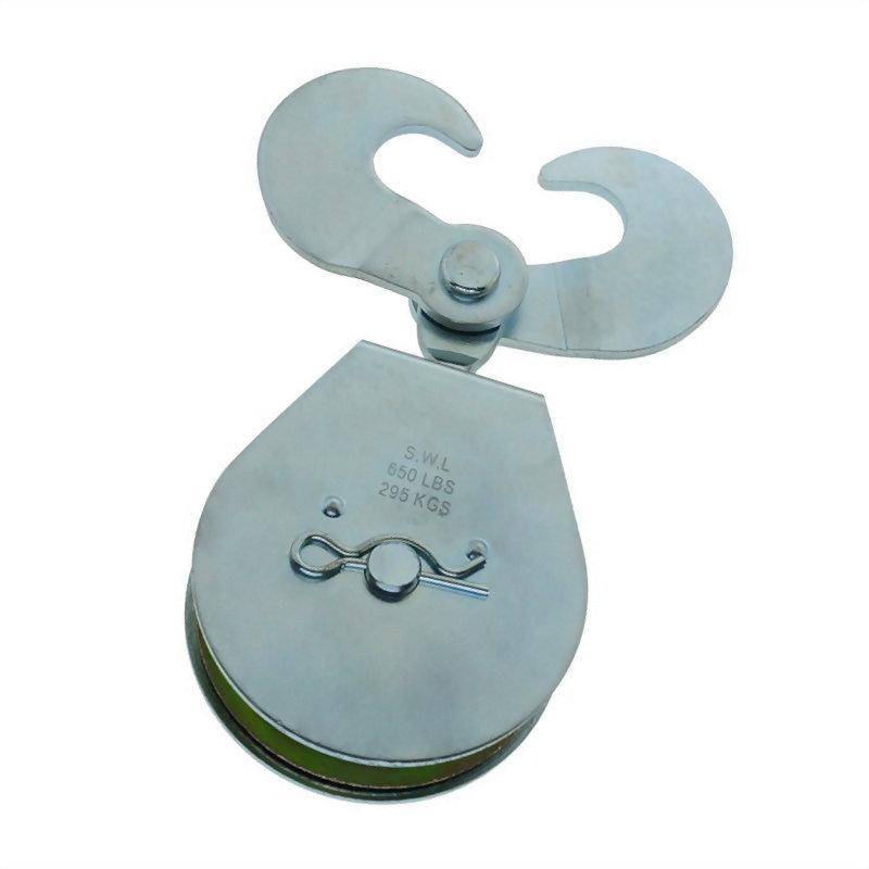 滑輪類產品(鐵板雙鉤滑輪)