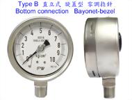 全不銹鋼壓力錶