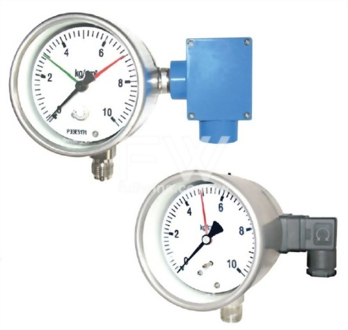Explosion Proof Type Pressure Gauge With Micro Switch