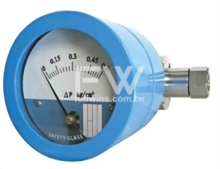 Differential Pressure Gauge / Switch with Diaphragm Type (In-line Connection)