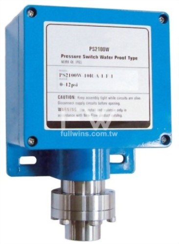 Weather Proof Type Pressure Switch 2~100psi