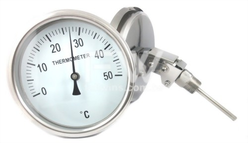Bimetal Thermometer with Adjustable Angle Neck