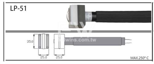 溫度測棒  表面用、表面特殊型、磁力吸附型、烙鐵專用型