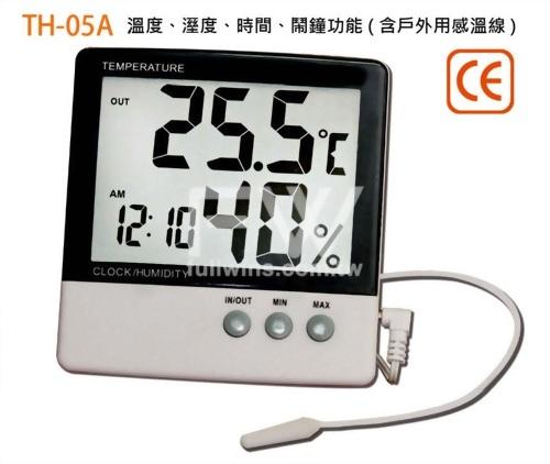 數字溫、溼度計 (壁掛、桌立兩用型)